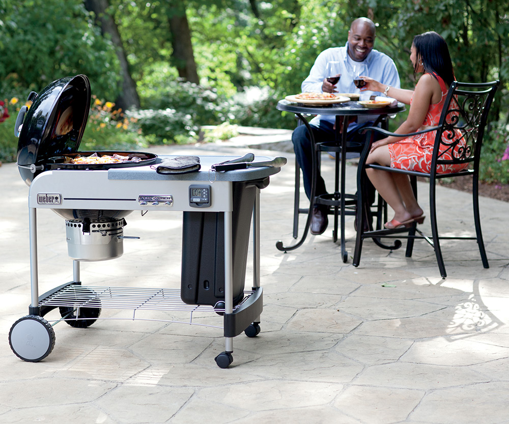 weber performer charcoal grill aqua quip seattle bbq store. Black Bedroom Furniture Sets. Home Design Ideas
