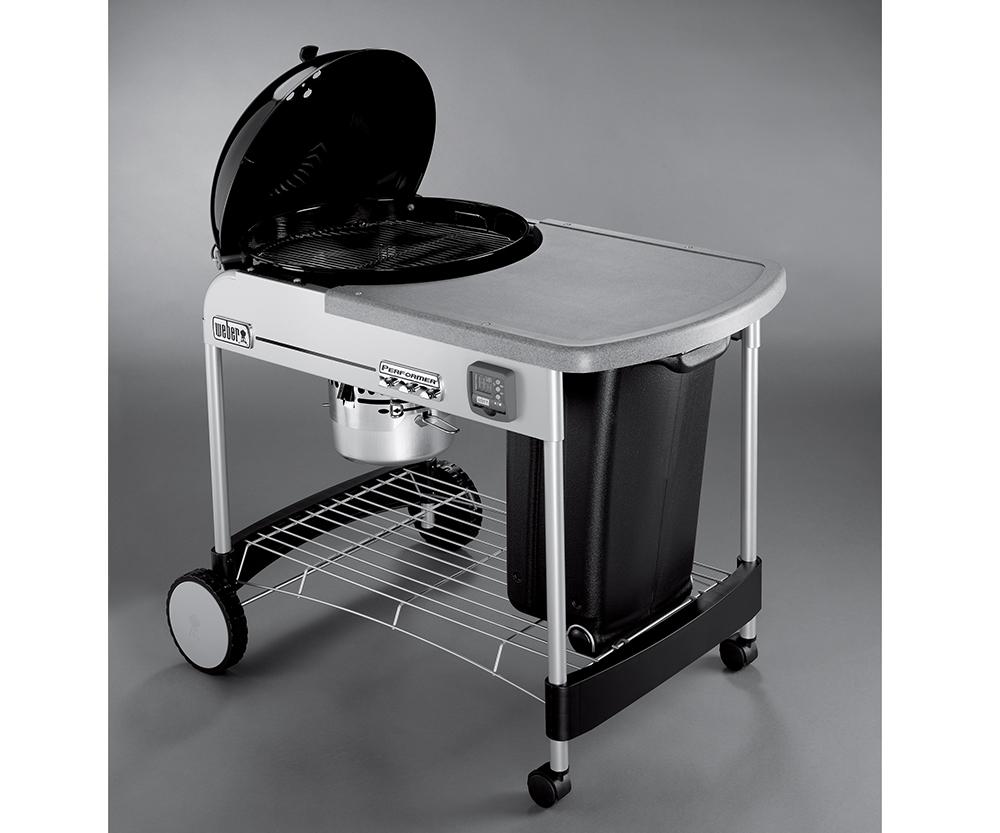weber performer charcoal grill aqua quip seattle bbq store. Black Bedroom Furniture Sets. Home Design Ideas