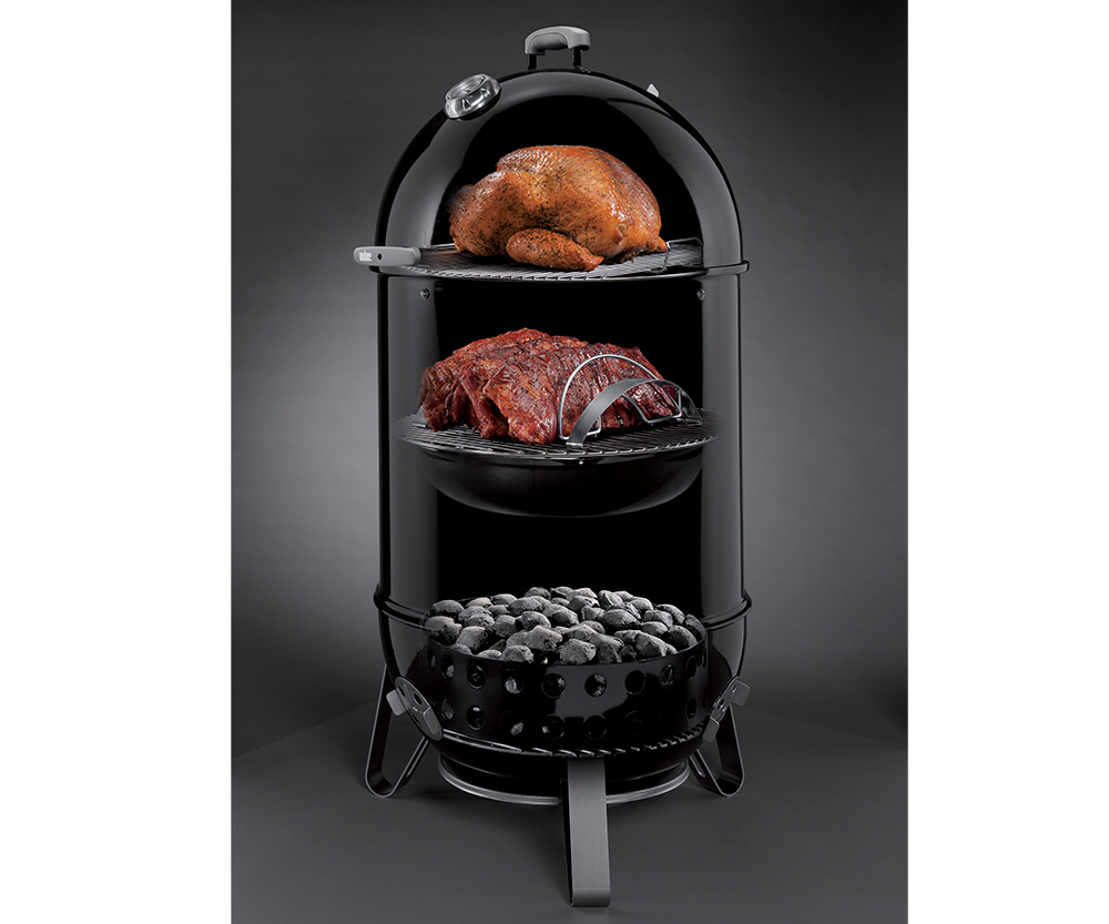 weber smokey mountain 22 charcoal grill aqua quip seattle bbq store. Black Bedroom Furniture Sets. Home Design Ideas